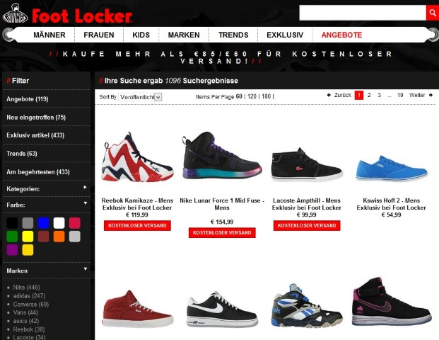 Footlocker Schuhe (Small)